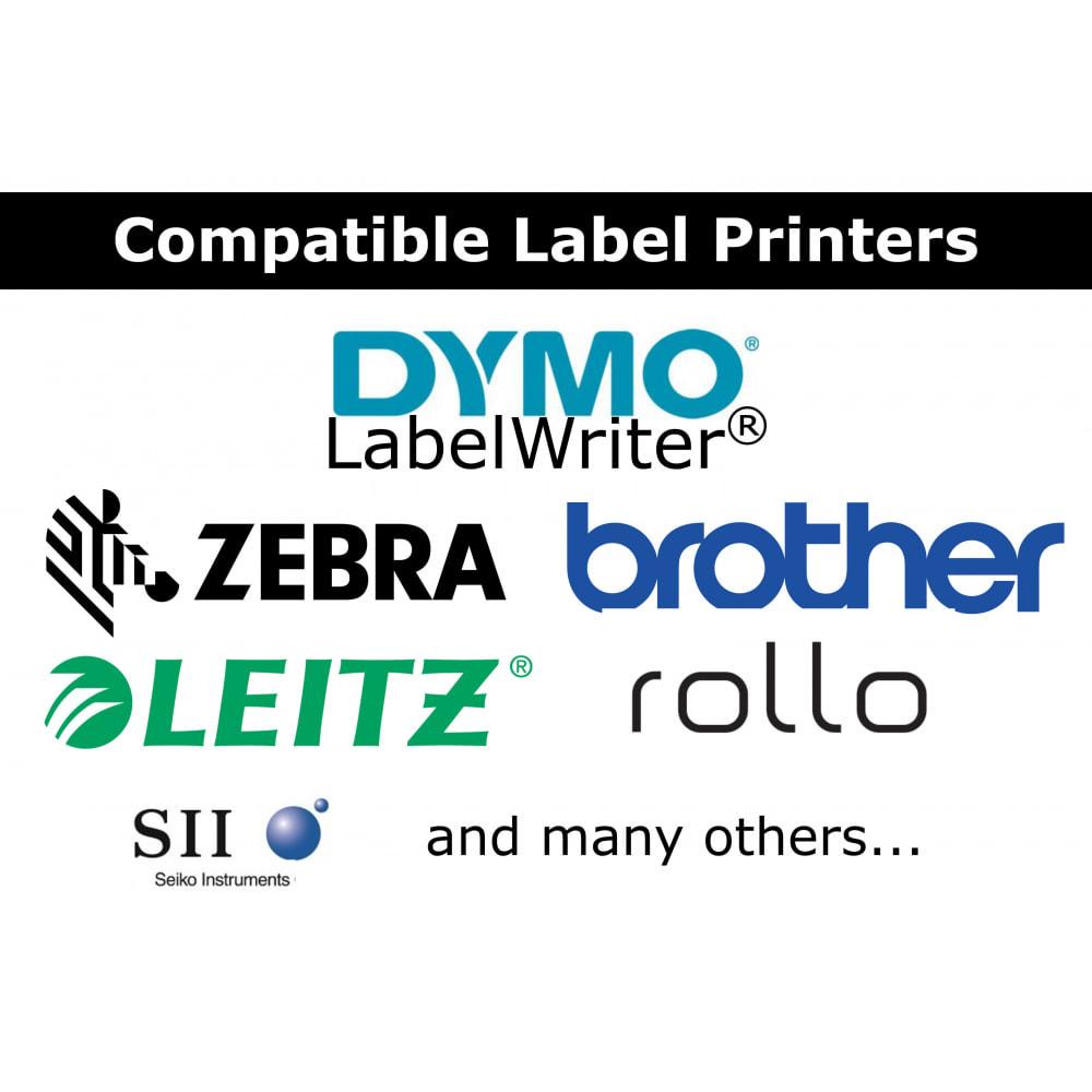 module - Voorbereiding & Verzending - Adres/Bestelling Labels & Etiketten - DirectLabelPrint - 3