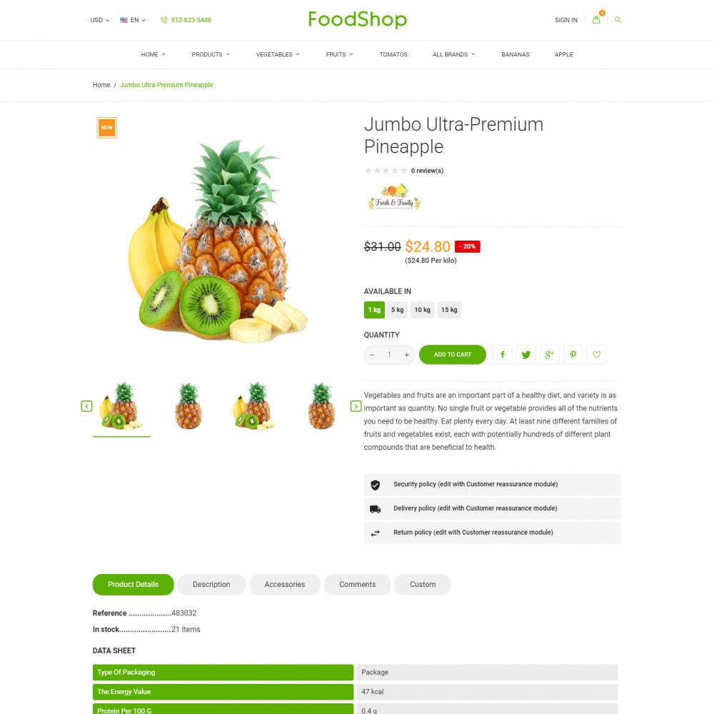 theme - Alimentation & Restauration - Organic Garden - Food Store - 7