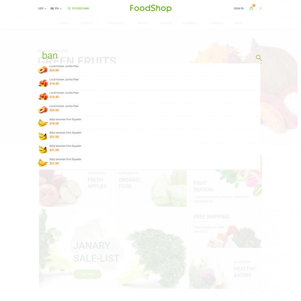 theme - Alimentation & Restauration - Organic Garden - Food Store - 8