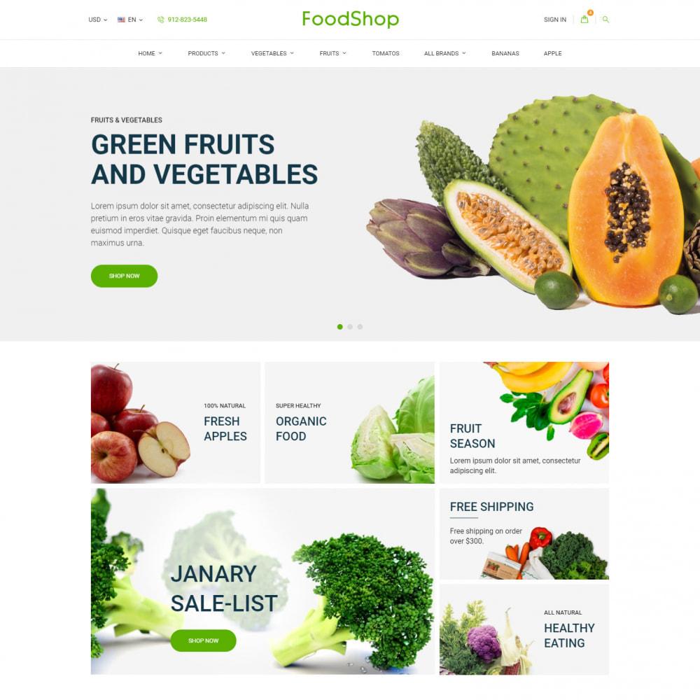 theme - Gastronomía y Restauración - Organic Garden - Food Store - 2