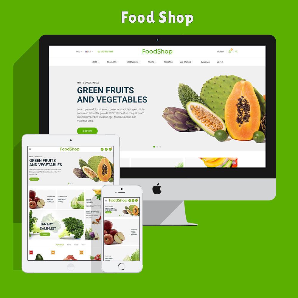theme - Cibo & Ristorazione - Organic Garden - Food Store - 3
