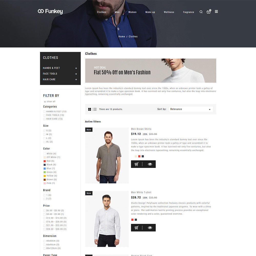 theme - Moda & Obuwie - Odzież modowa - sklep dla kobiet projektantów - 5