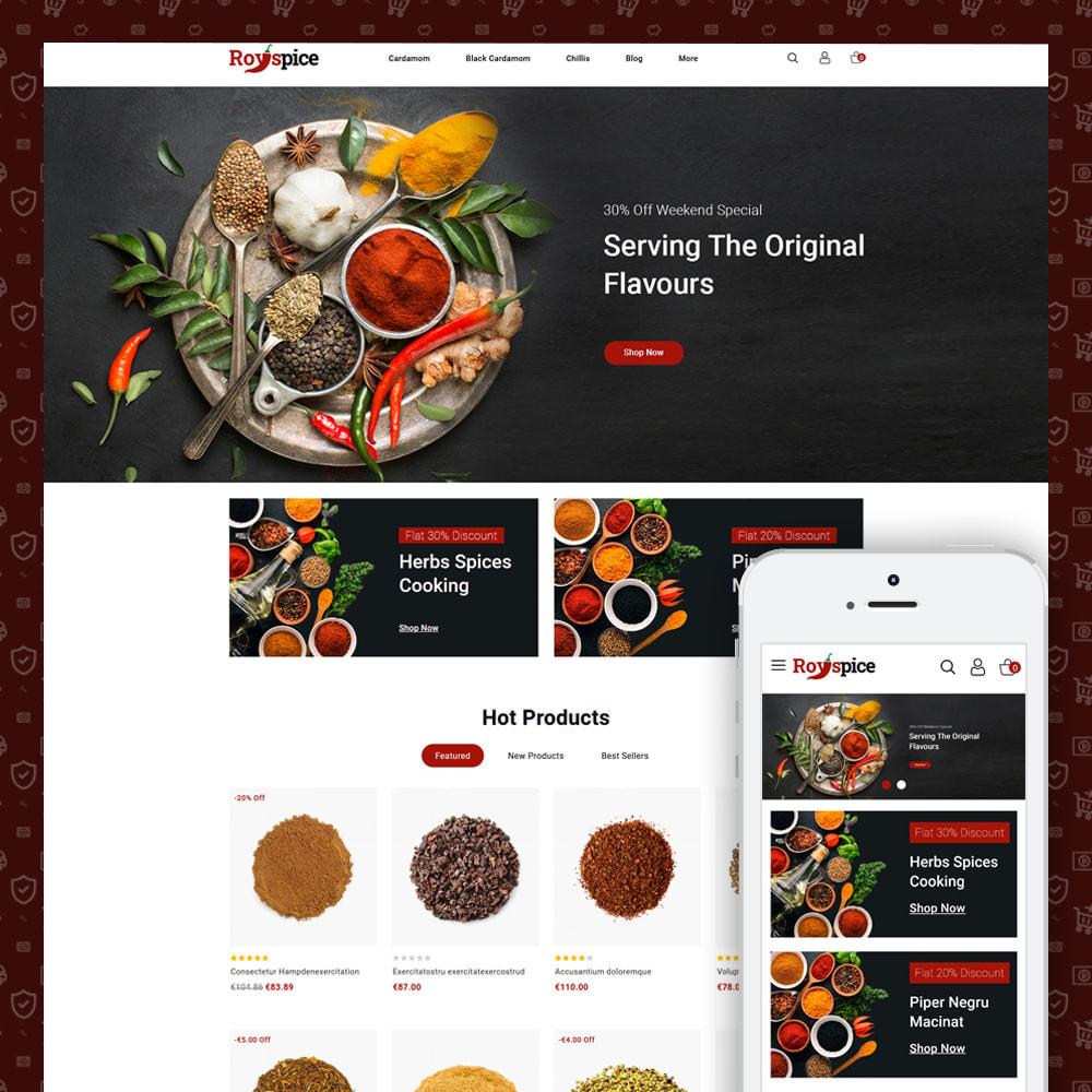 theme - Food & Restaurant - Royspice  - Online Spice Store - 1