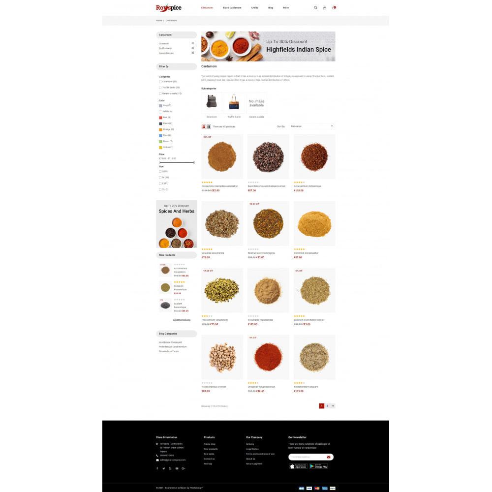 theme - Food & Restaurant - Royspice  - Online Spice Store - 3