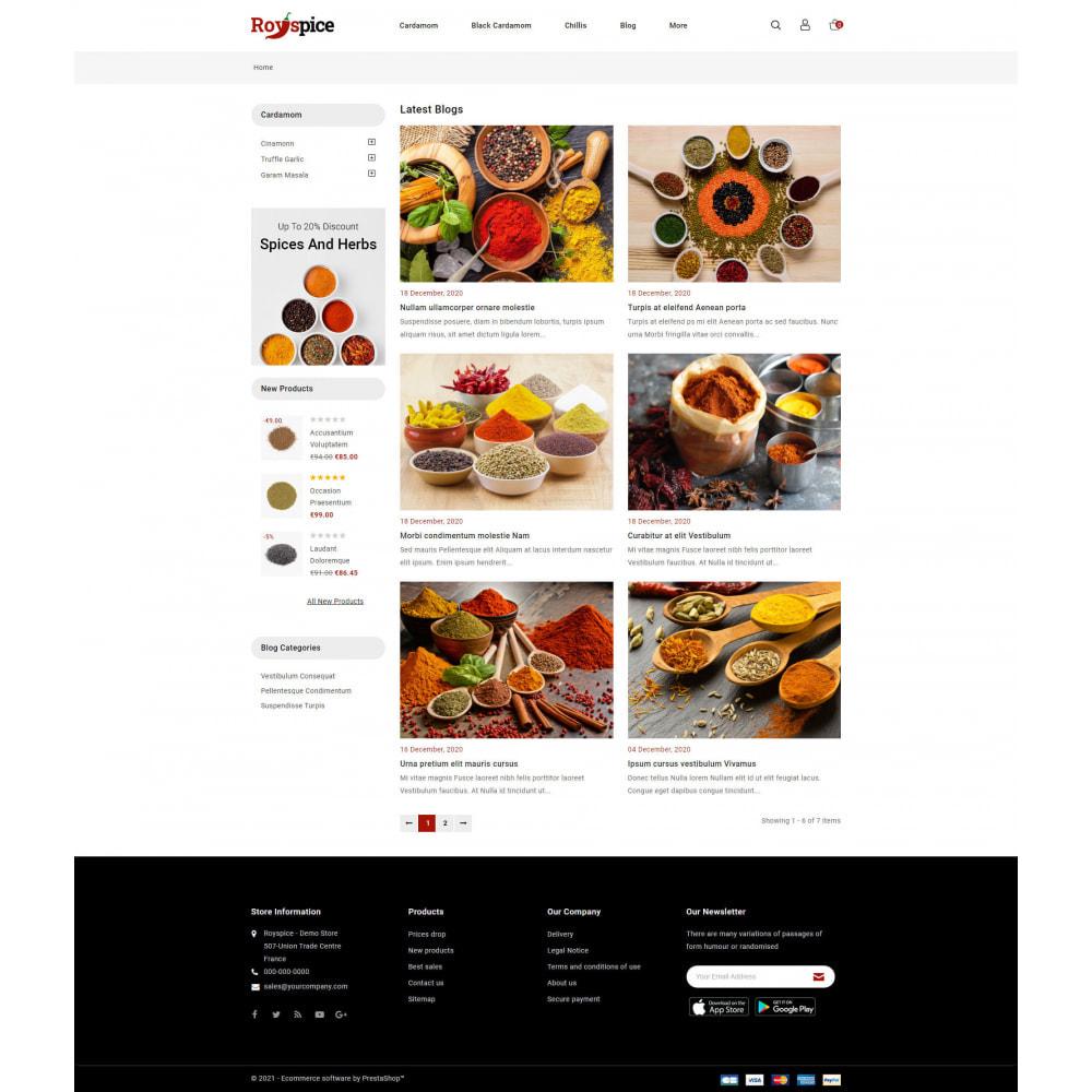 theme - Food & Restaurant - Royspice  - Online Spice Store - 9