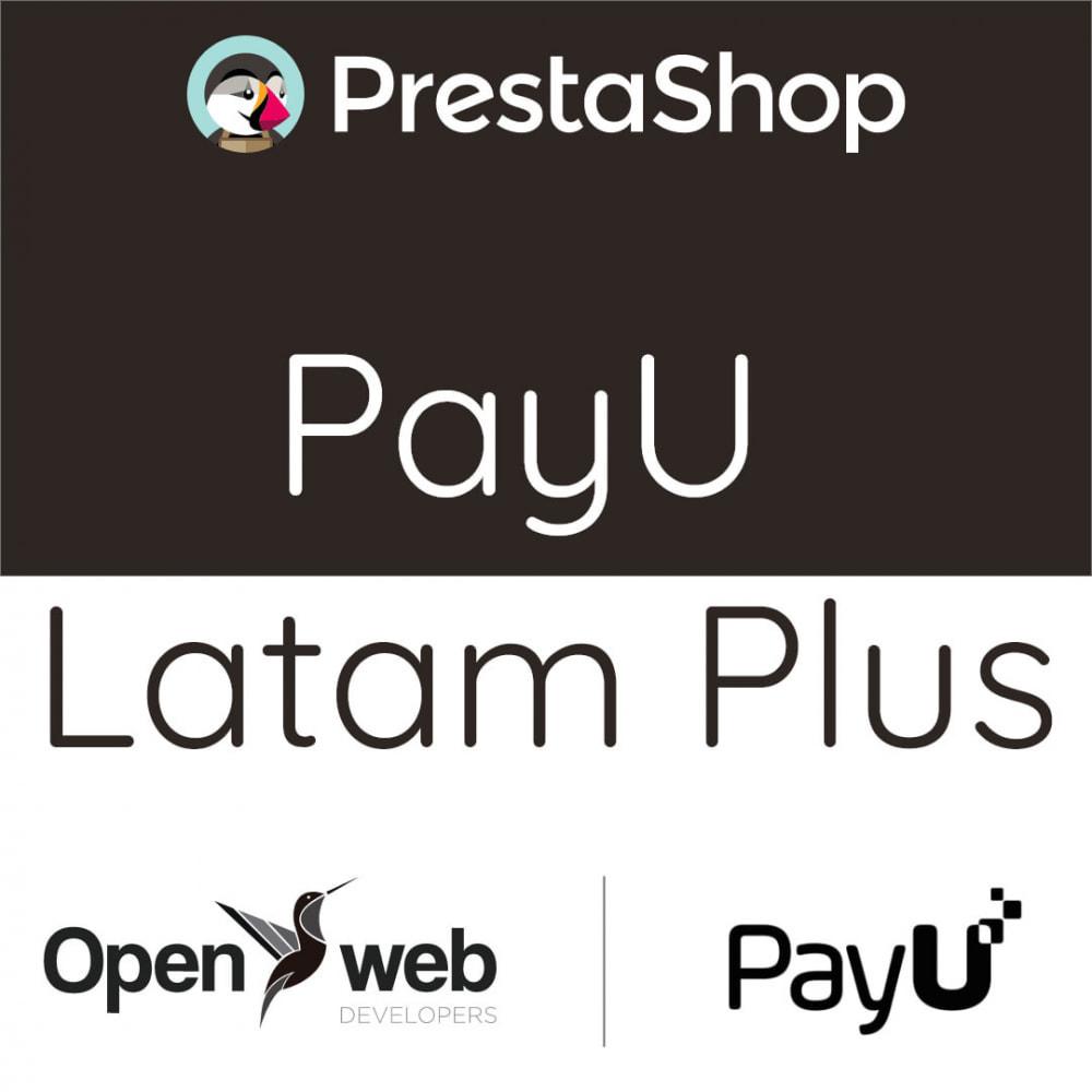 module - Pago con Tarjeta o Carteras digitales - PayU Latam Plus - 1