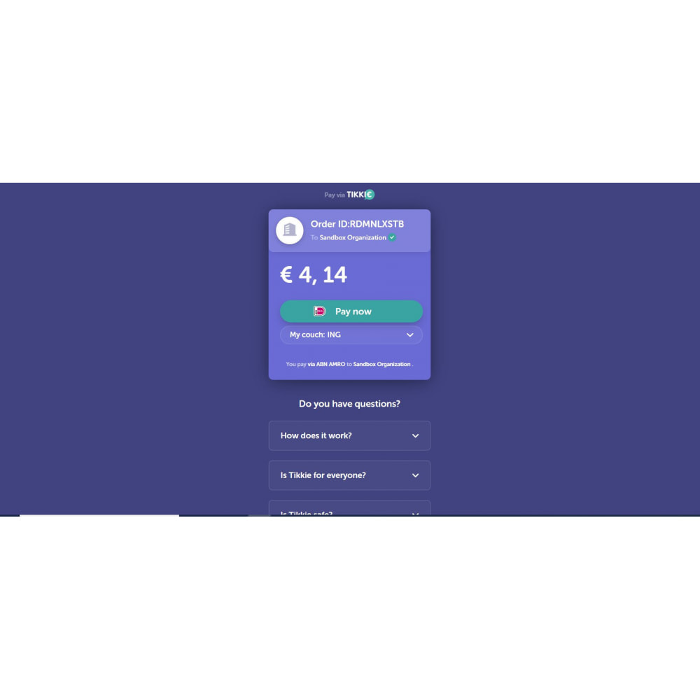 module - Other Payment Methods - Pay with Tikkie - 2