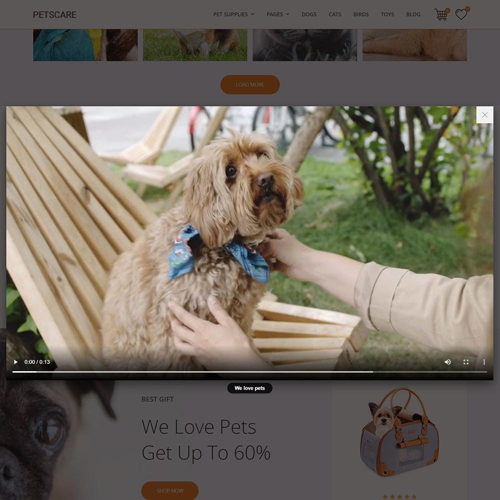 theme - Animals & Pets - PetsCare - Pets Shop - 8