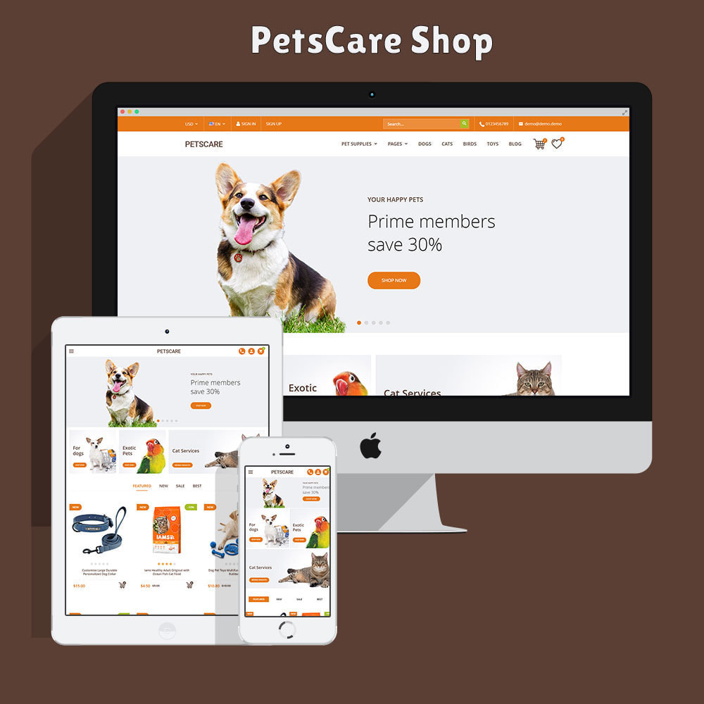 theme - Dieren - PetsCare - Dierenwinkel - 2