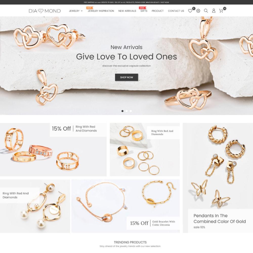 theme - Sieraden & Accessoires - Diamond Jewelry & Accessories - Fashion, Watches - 2