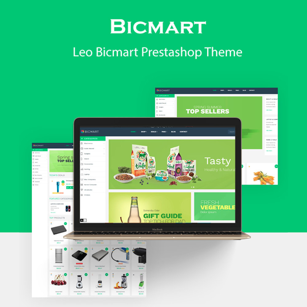 theme - Food & Restaurant - Bos Bicmart - 1