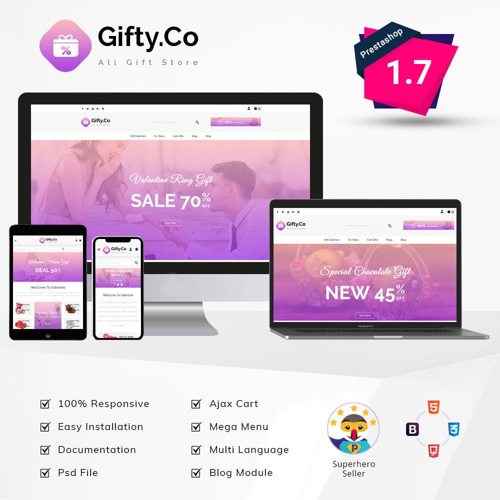 theme - Gifts, Flowers & Celebrations - Gifty.Co - Gift Store - 1