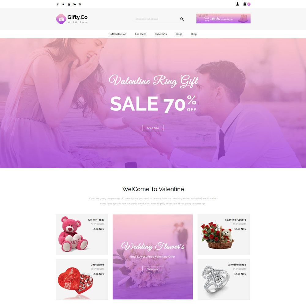 theme - Gifts, Flowers & Celebrations - Gifty.Co - Gift Store - 2