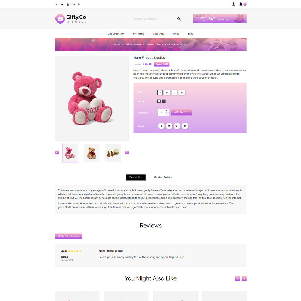 theme - Gifts, Flowers & Celebrations - Gifty.Co - Gift Store - 4