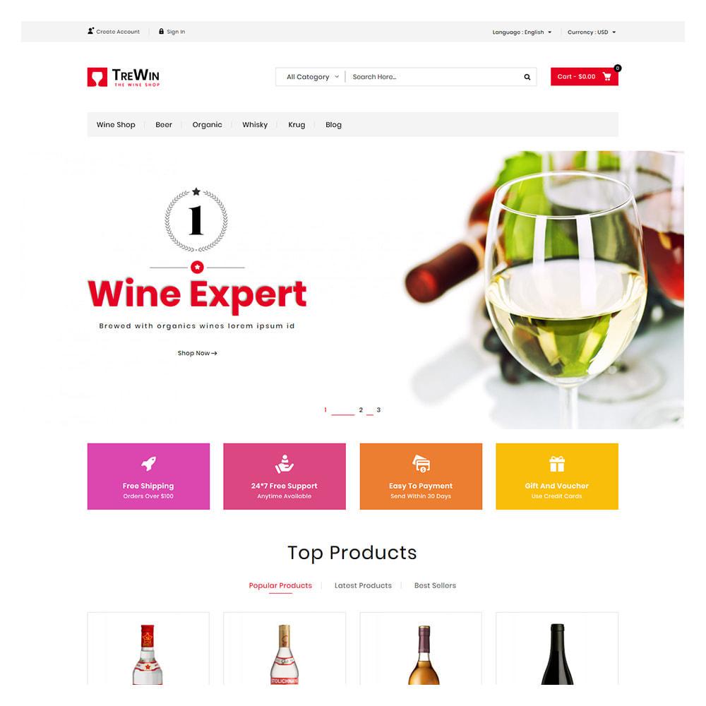 theme - Bebidas & Tabaco - Trewin Drinks and  Wine Store - 2