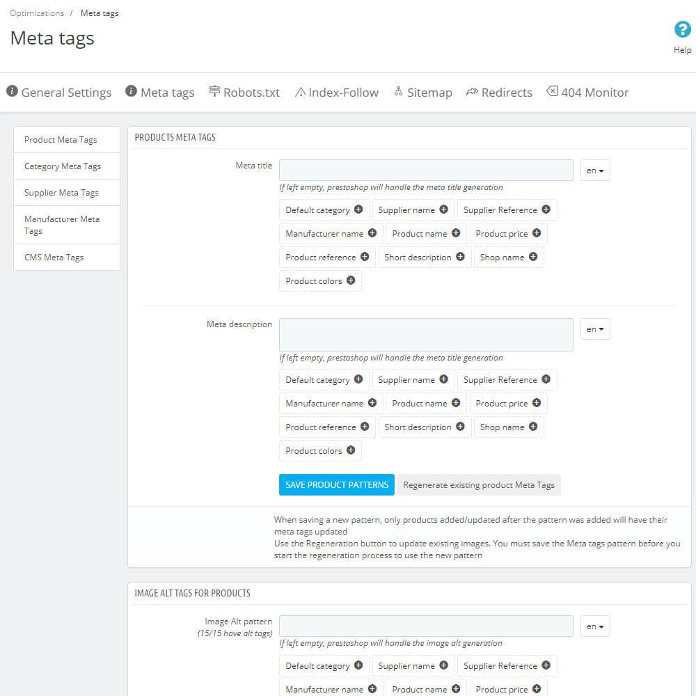 module - SEO (Pozycjonowanie naturalne) - SEO Ultimate: Meta Tags, Redirects, Sitemaps & More - 4