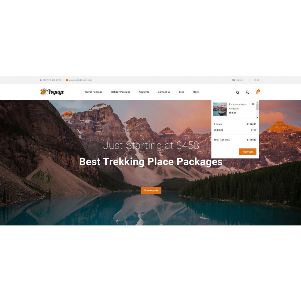 theme - Sports, Activities & Travel - Voyage - Travels Store - 7