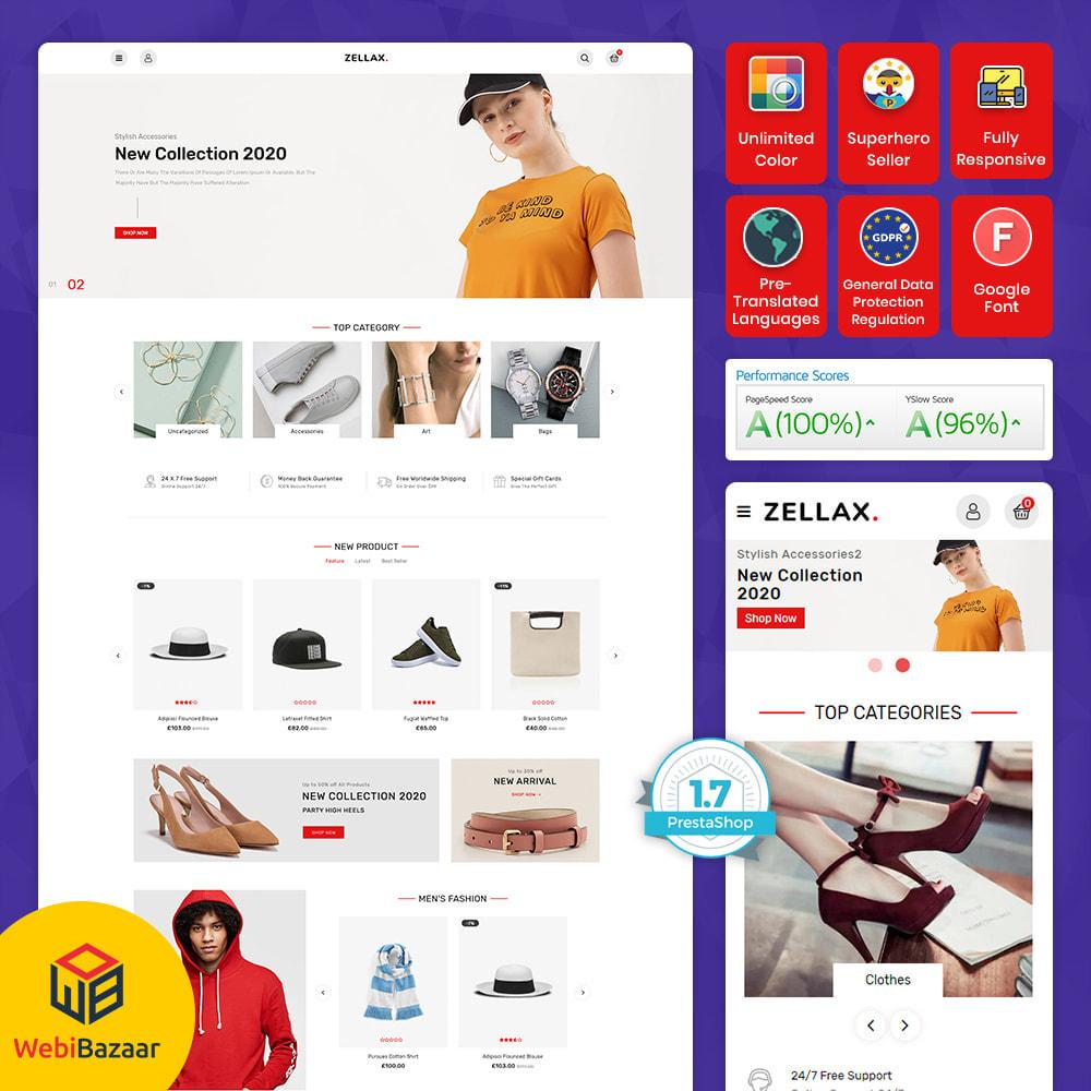 theme - Fashion & Shoes - Zellax - Trendy Online Fashion - 1