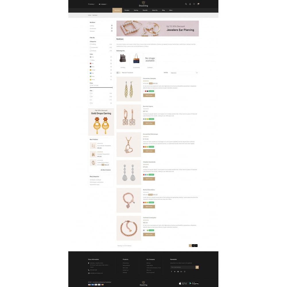 theme - Bellezza & Gioielli - Dazzling - Golden Jewelry Store - 4