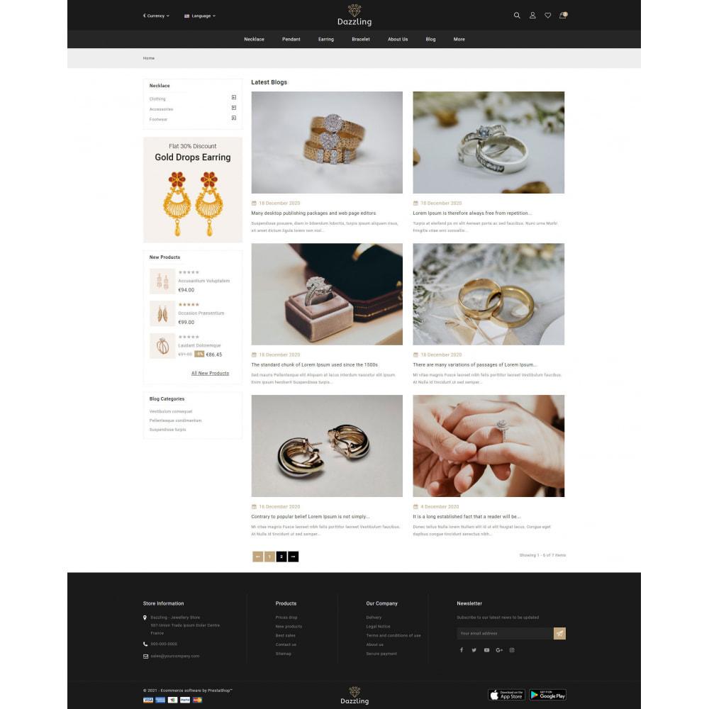 theme - Bellezza & Gioielli - Dazzling - Golden Jewelry Store - 9