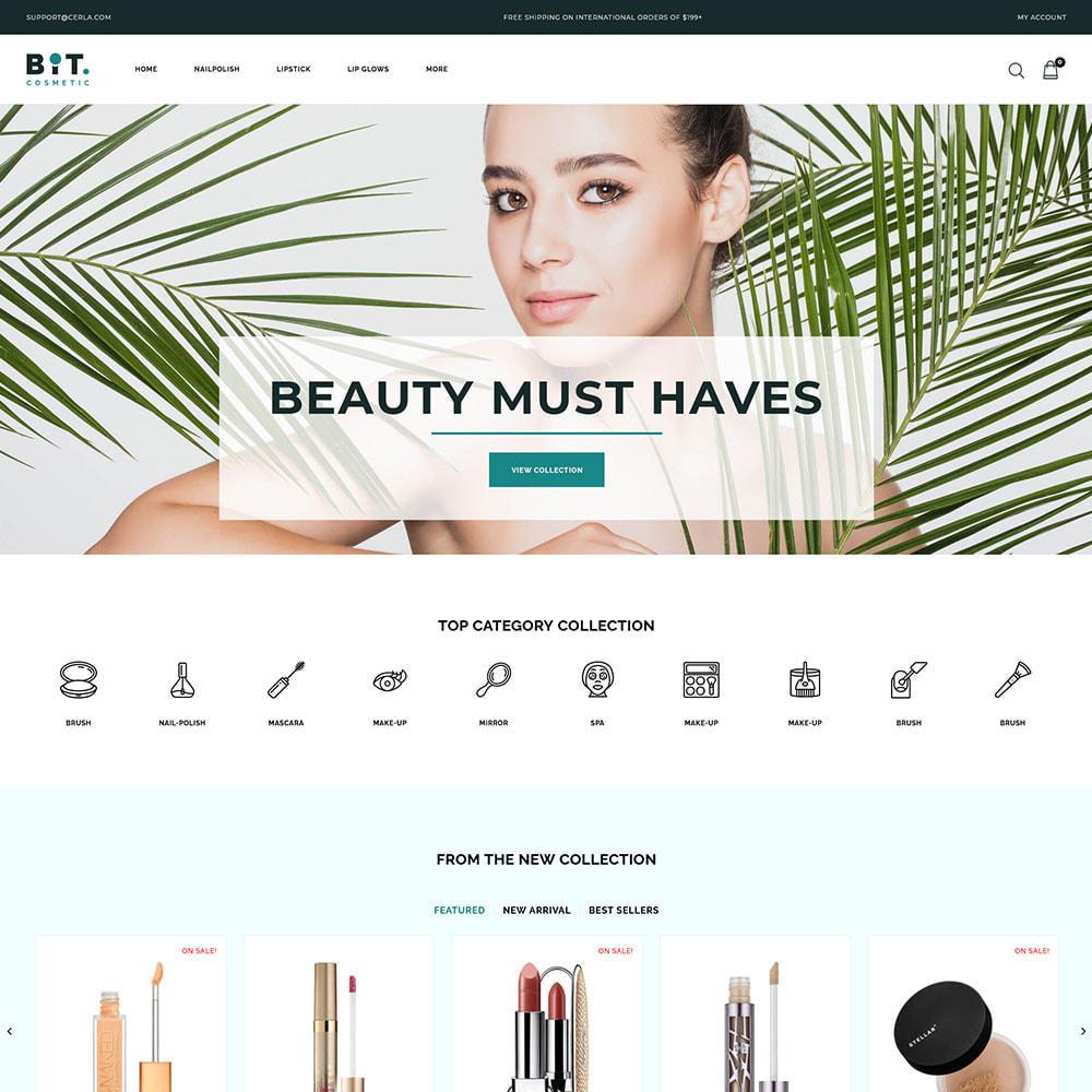 theme - Health & Beauty - Bitcosmetic - Cosmetic Store - 2