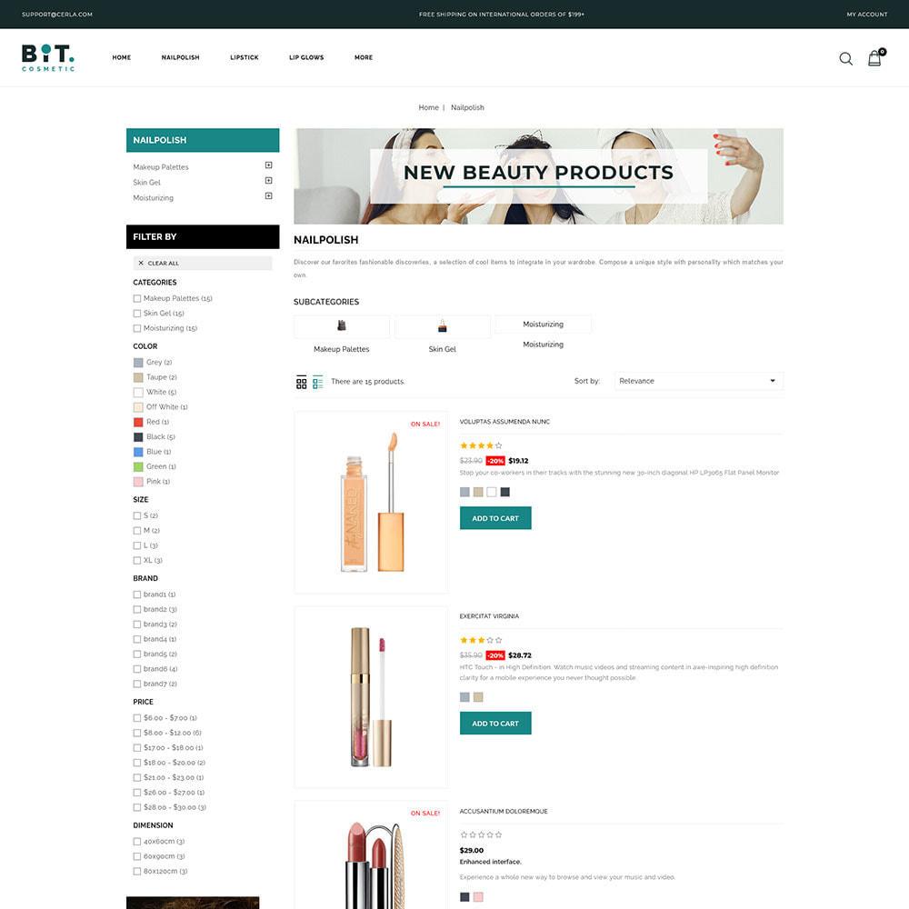 theme - Health & Beauty - Bitcosmetic - Cosmetic Store - 4