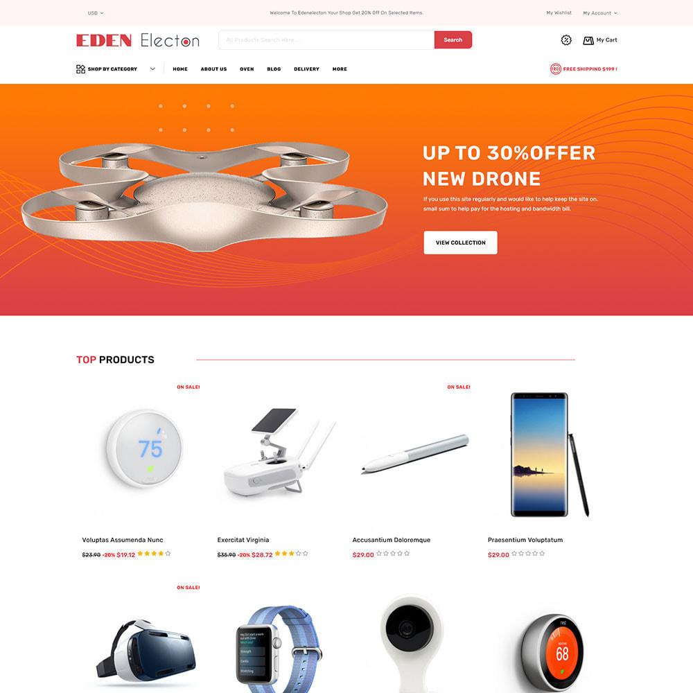 theme - Electronique & High Tech - Edenelecton - Electronics Store - 2