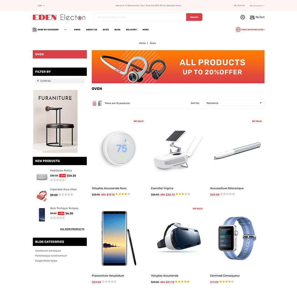 theme - Electronique & High Tech - Edenelecton - Electronics Store - 3