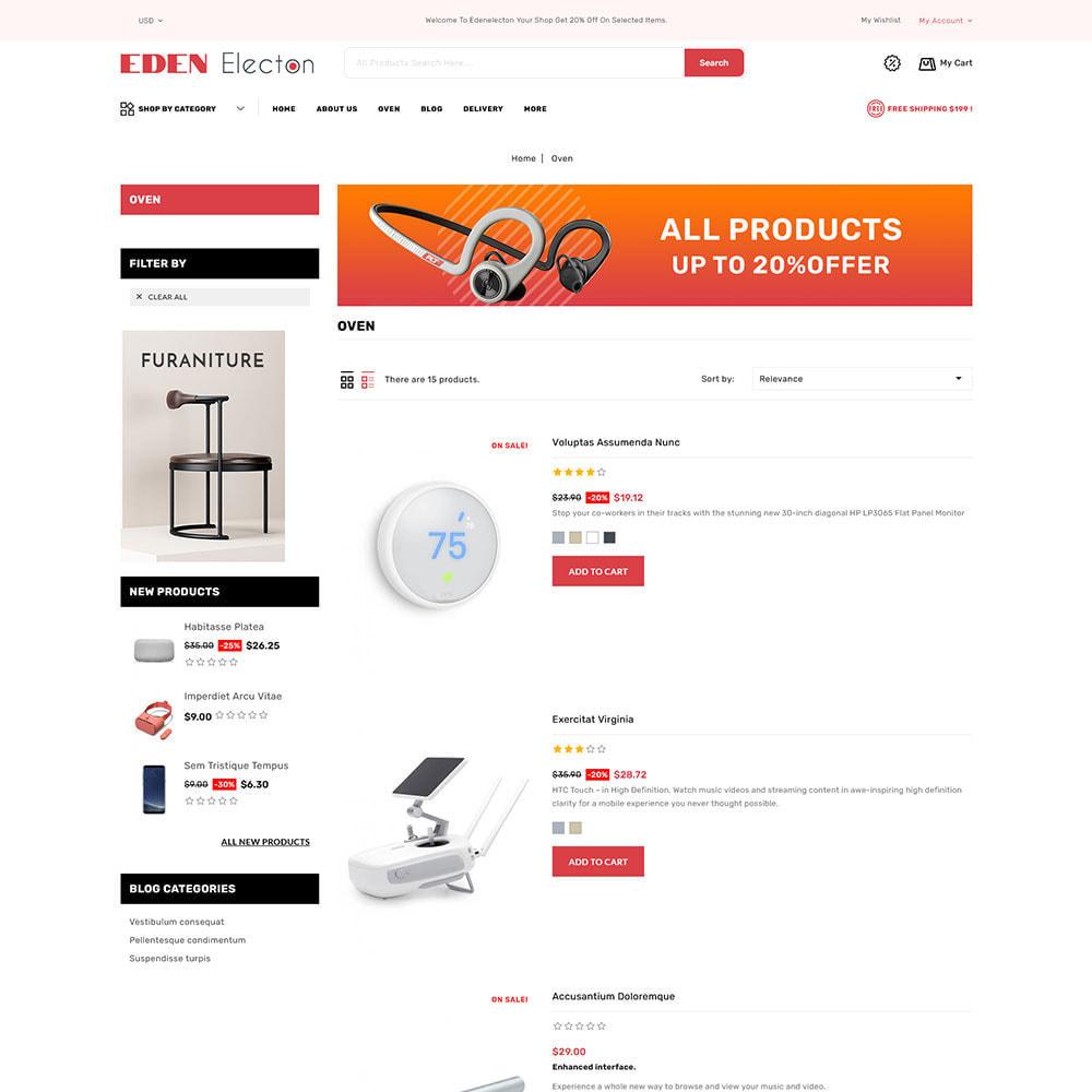 theme - Electronique & High Tech - Edenelecton - Electronics Store - 4