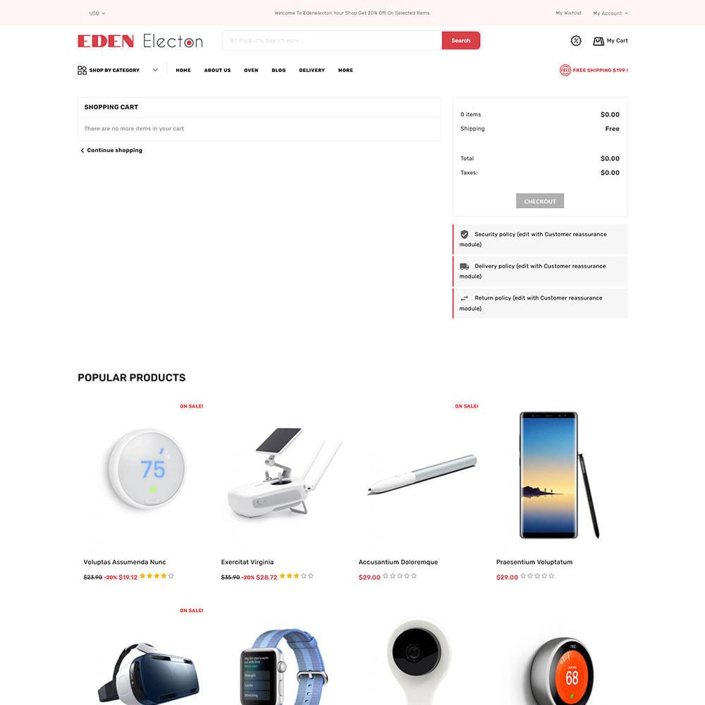 theme - Electronique & High Tech - Edenelecton - Electronics Store - 9