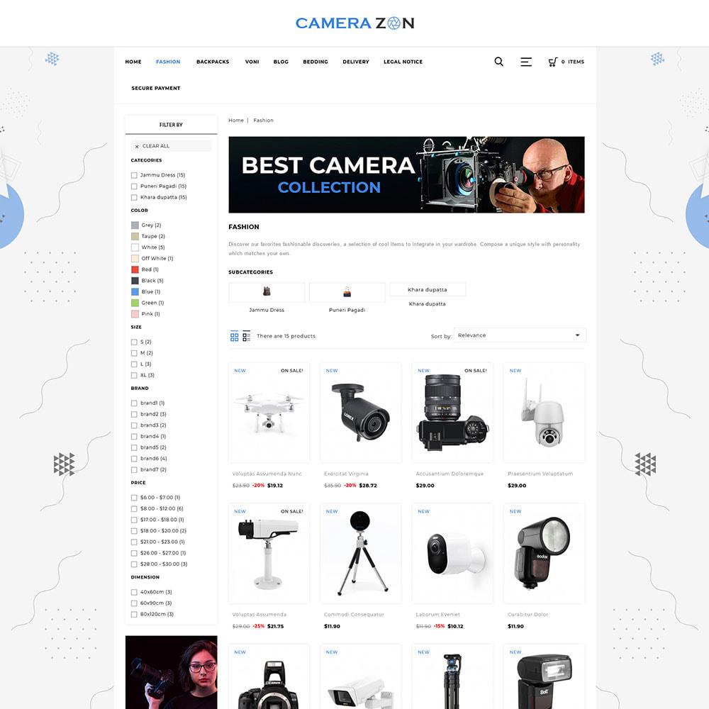theme - Electronics & Computers - Camerazon - Camera Store - 3