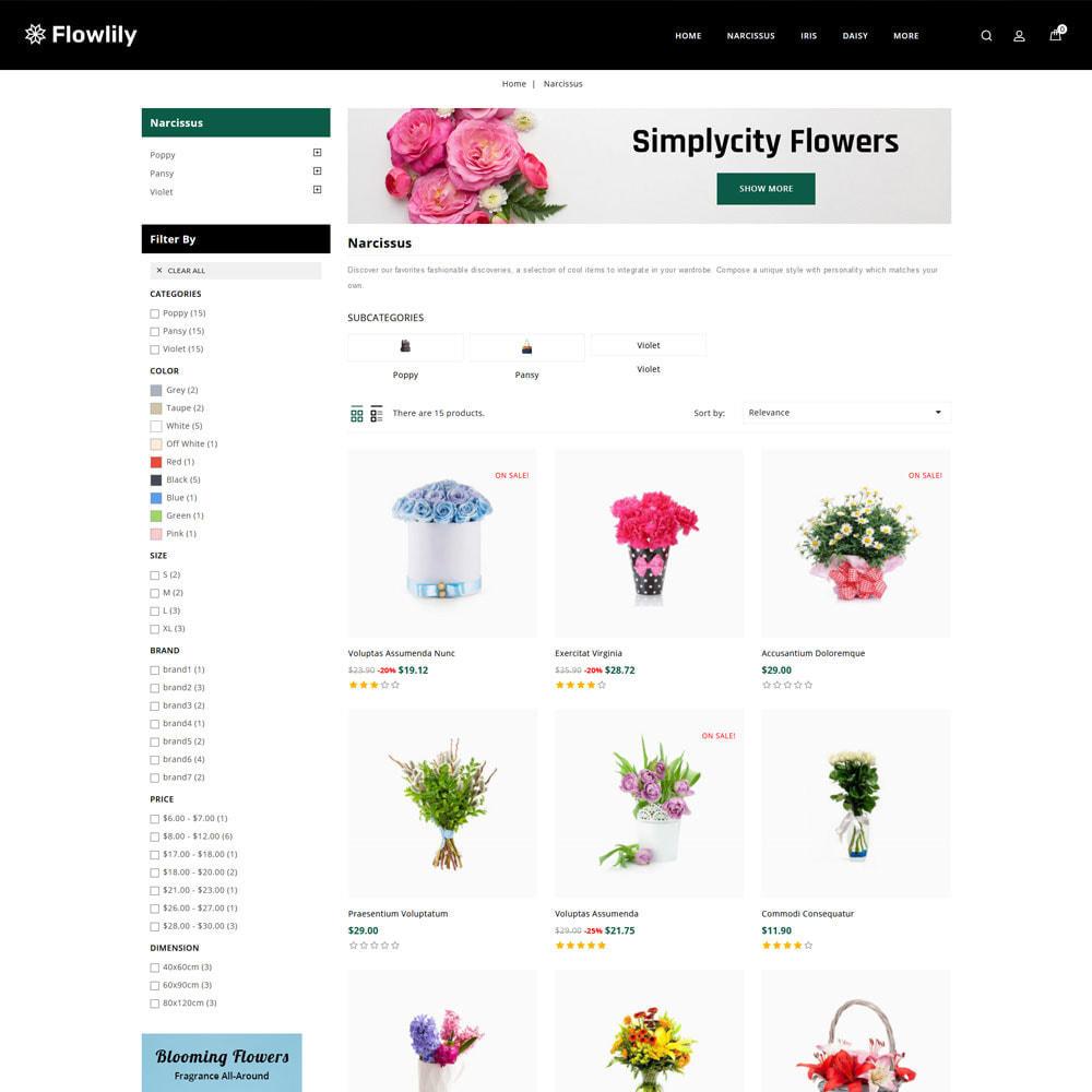 theme - Cadeaus, Bloemen & Gelegenheden - Flowlity - Flower Store - 4