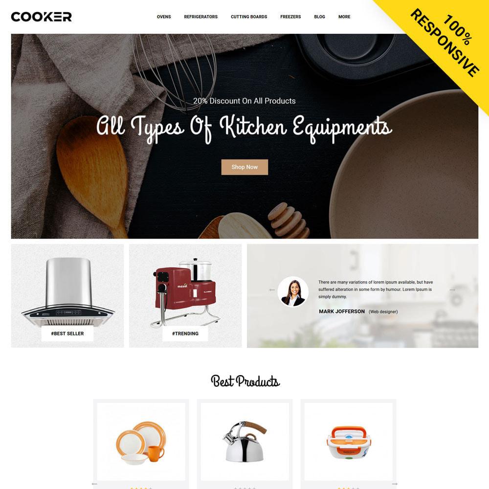 theme - Food & Restaurant - Cooker - Kitchen Store - 1
