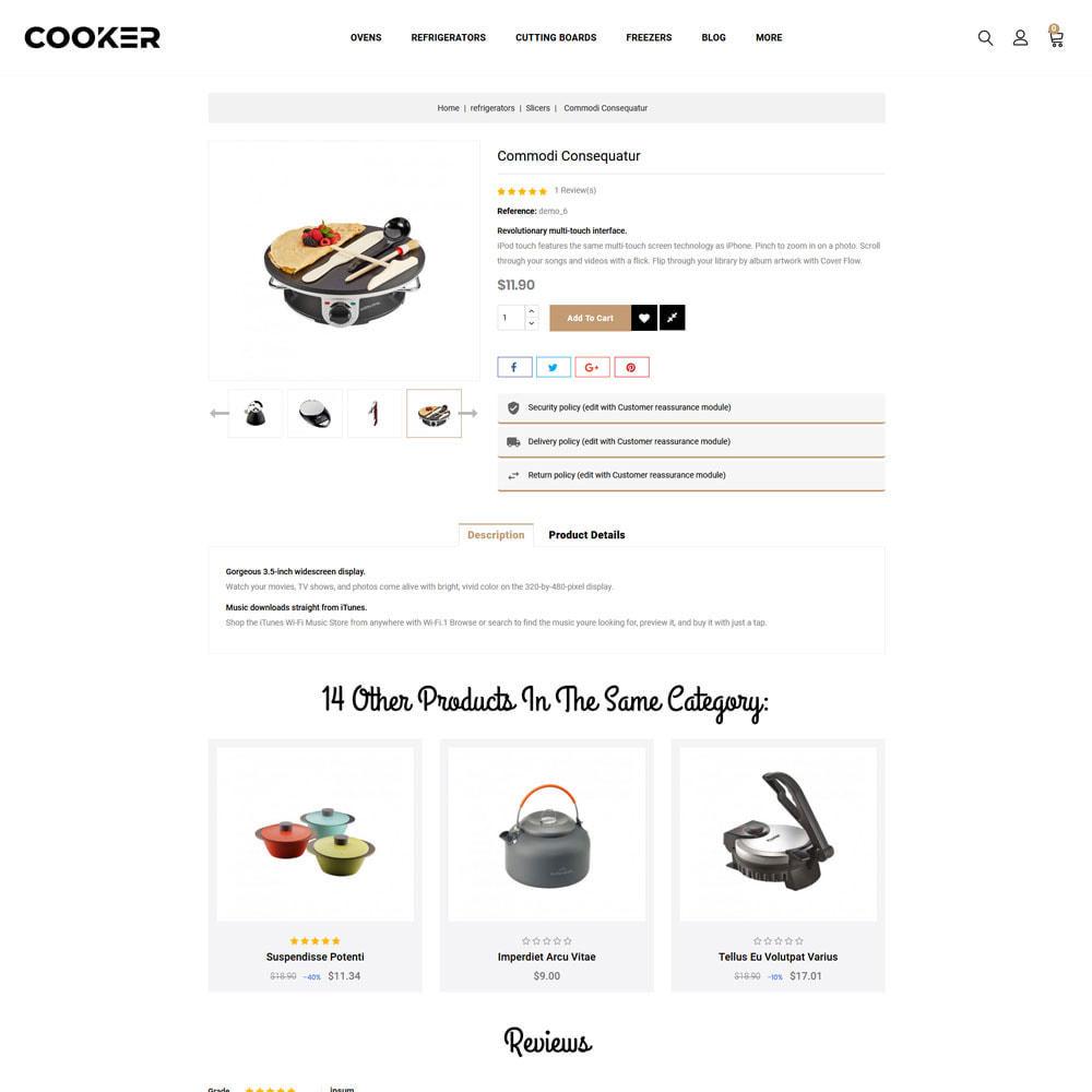 theme - Food & Restaurant - Cooker - Kitchen Store - 8