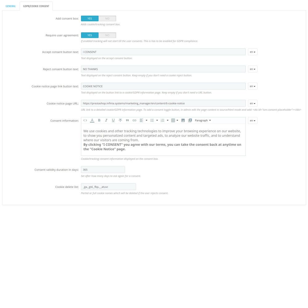 module - Produits sur Facebook & réseaux sociaux - Social Network Pixel (with Conversions API & GDPR) - 5