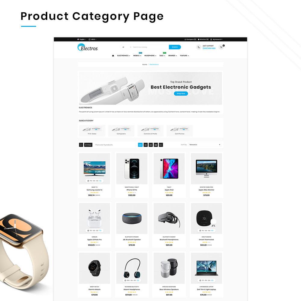 theme - Elektronika & High Tech - Electros High–Tech Gadgets–Electronics Mega Store - 3
