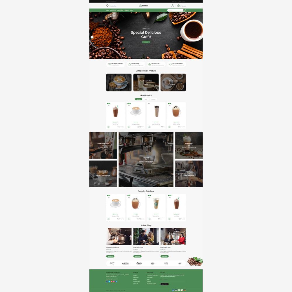 theme - Alimentation & Restauration - Magasin de café expresso - 2