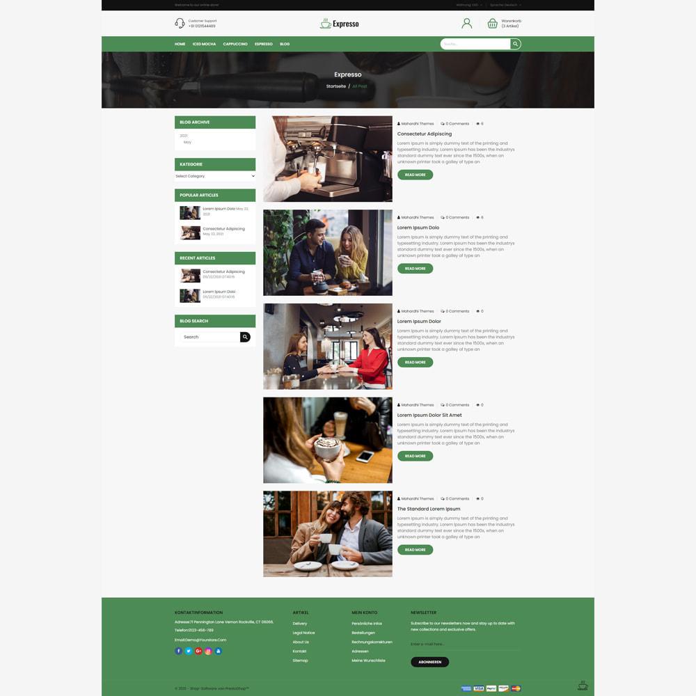 theme - Lebensmittel & Restaurants - Expresso Coffee Store - 5