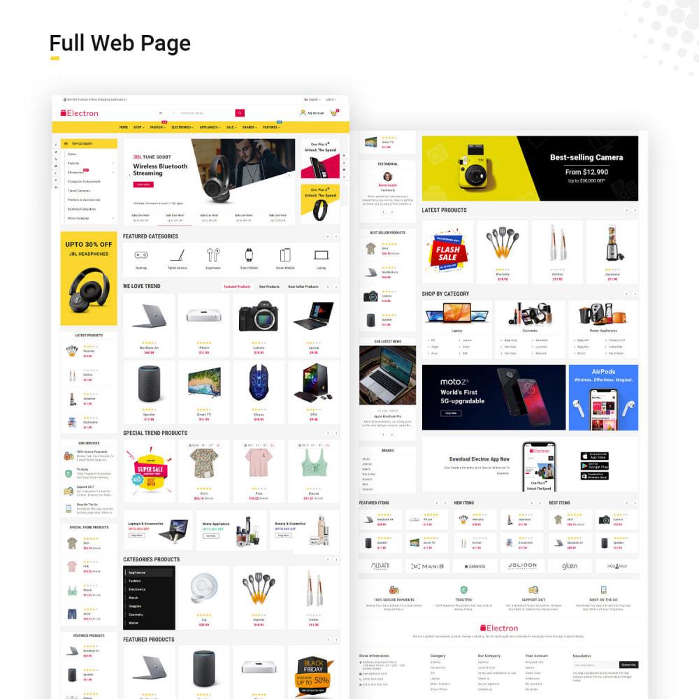 theme - Electrónica e High Tech - Electros High–Tech Gadgets–Electronics Mega Store - 3