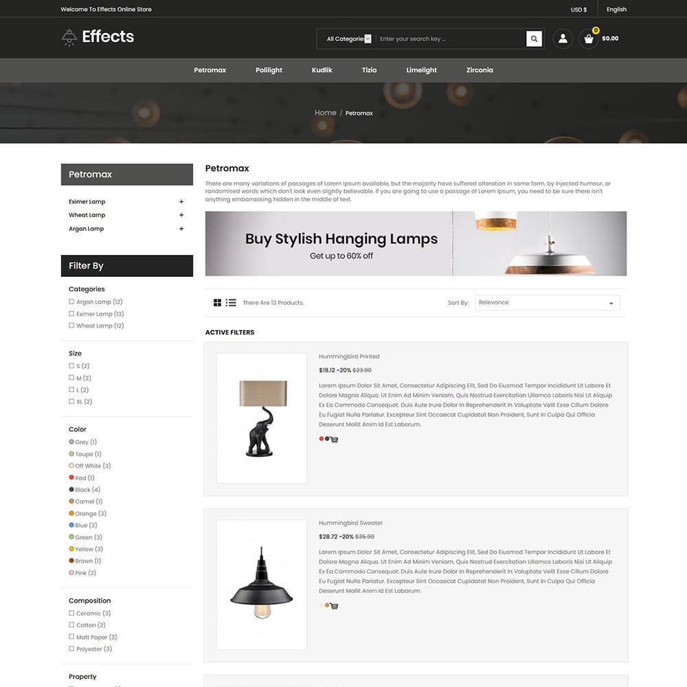 theme - Home & Garden - Effect Light LED - Lamp Home Decor  Store - 4