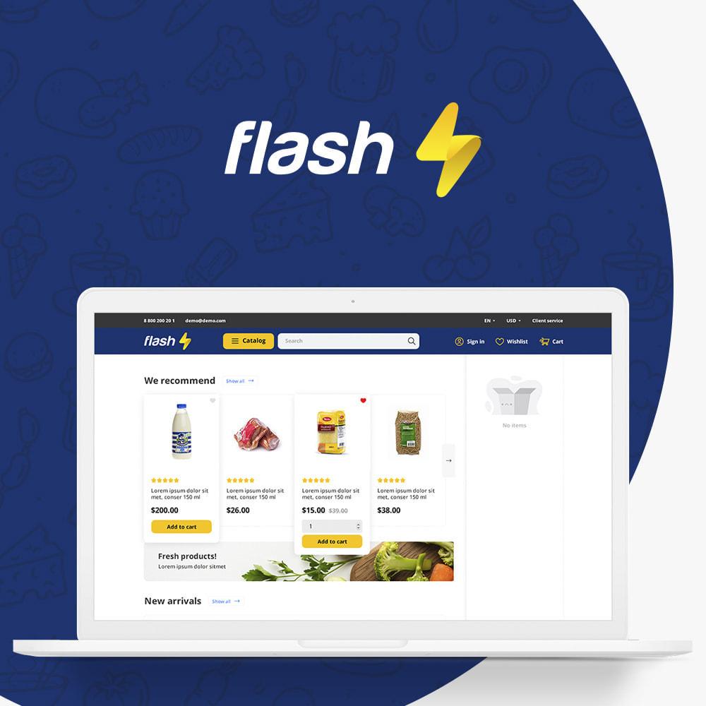 theme - Gastronomía y Restauración - Flash Food Market - 1