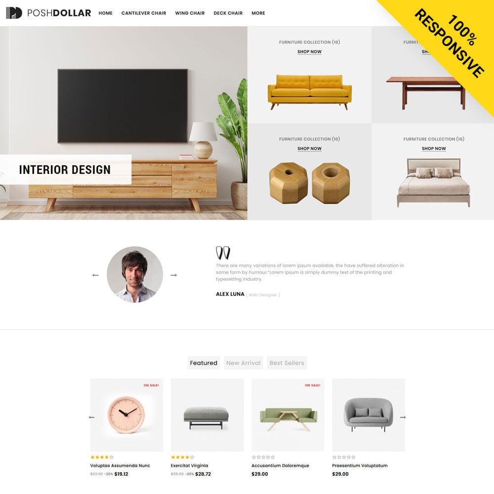 theme - Home & Garden - Poshdollar - Furniture Store - 1