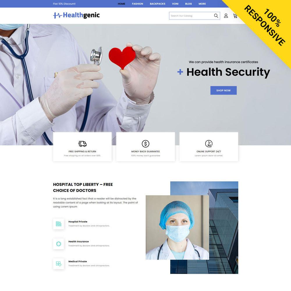 theme - Health & Beauty - Healthgenic - Medical Store - 1