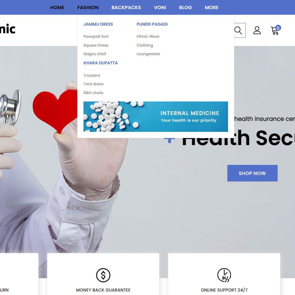 theme - Health & Beauty - Healthgenic - Medical Store - 7