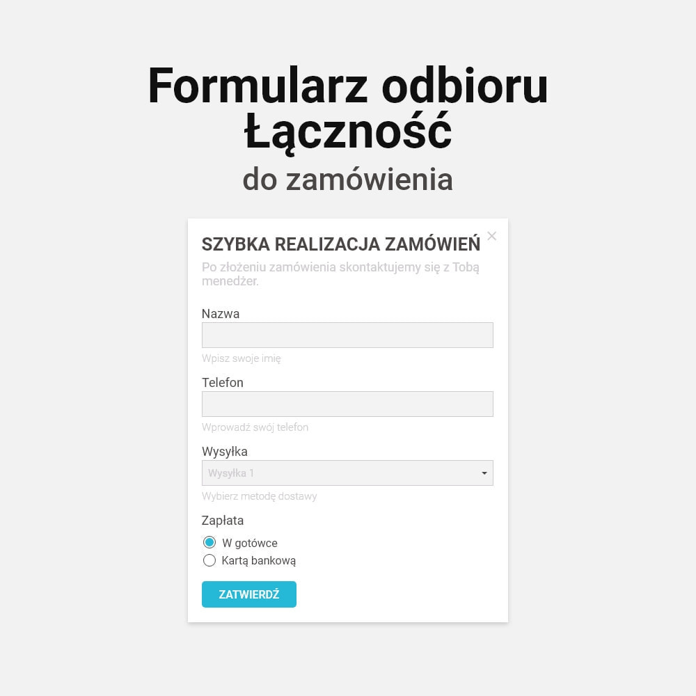 module - Szybki proces składania zamówienia - Zamówienie jednym kliknięciem! - 3