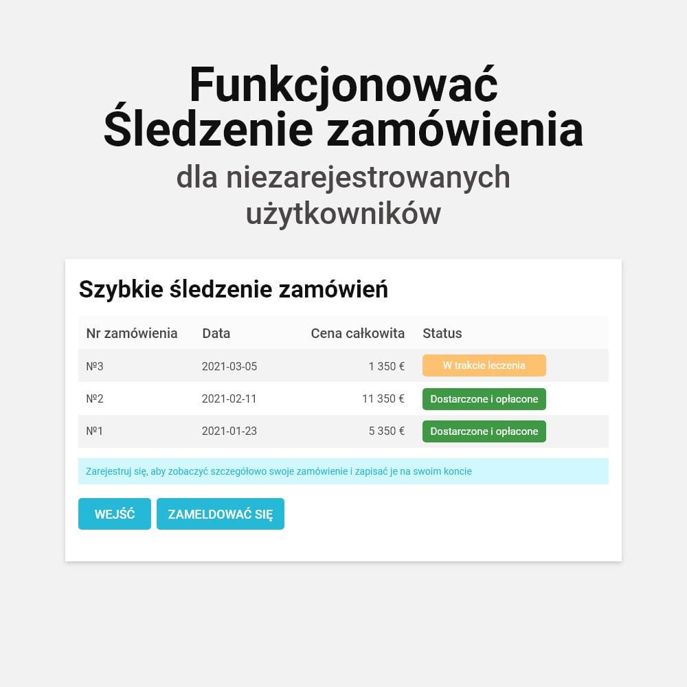 module - Szybki proces składania zamówienia - Zamówienie jednym kliknięciem! - 6