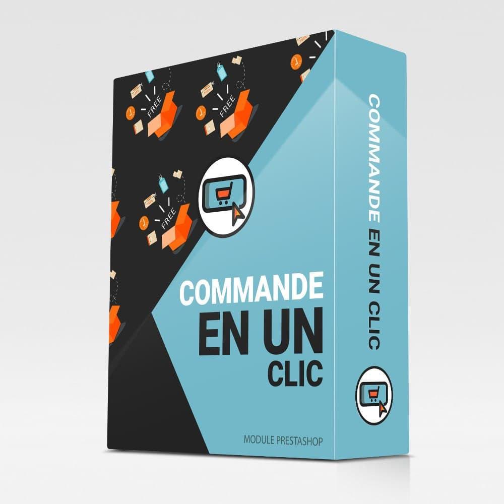 module - Processus rapide de commande - Commande en un clic - 1