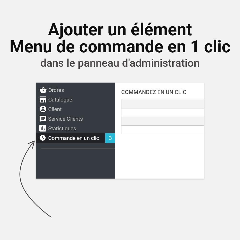 module - Processus rapide de commande - Commande en un clic - 9