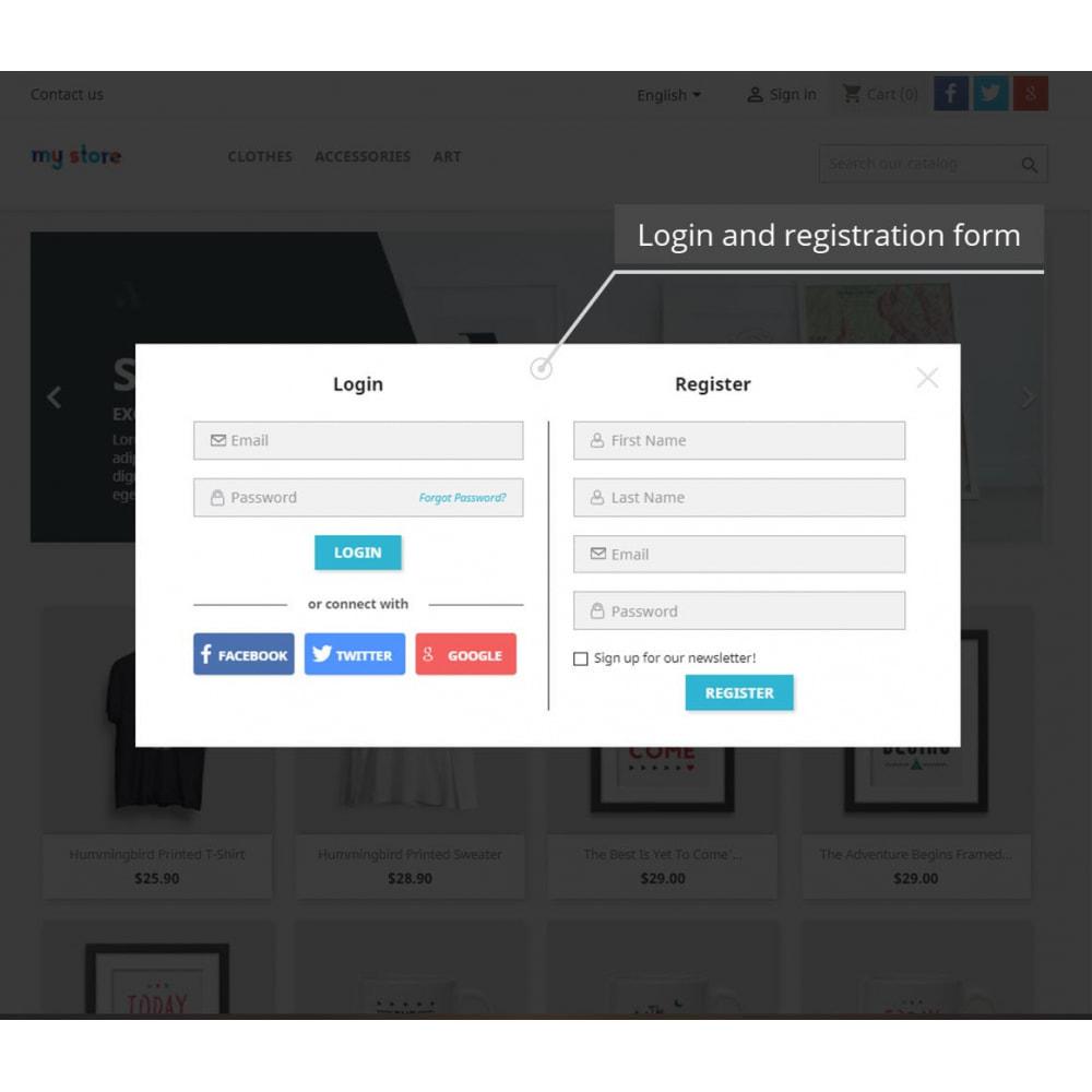 module - Módulos de Botões de Login & Connect - Popups Pack (10 in 1) And Social Connect - 3