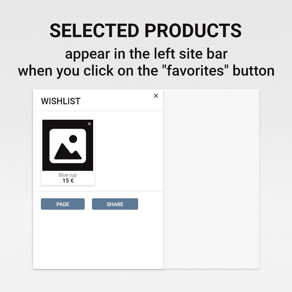 module - Wishlist & Gift Card - Wishlist / Favorite products - 5